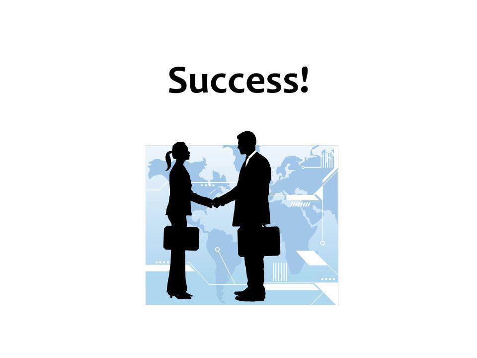 Success! 67