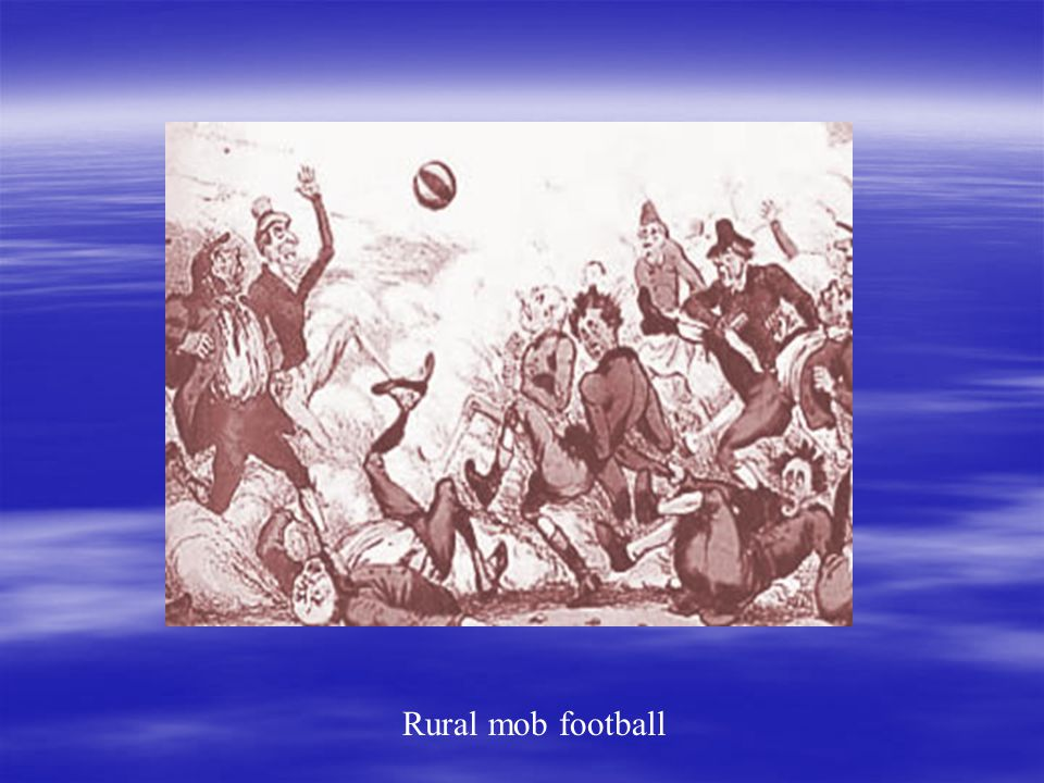Rural mob football