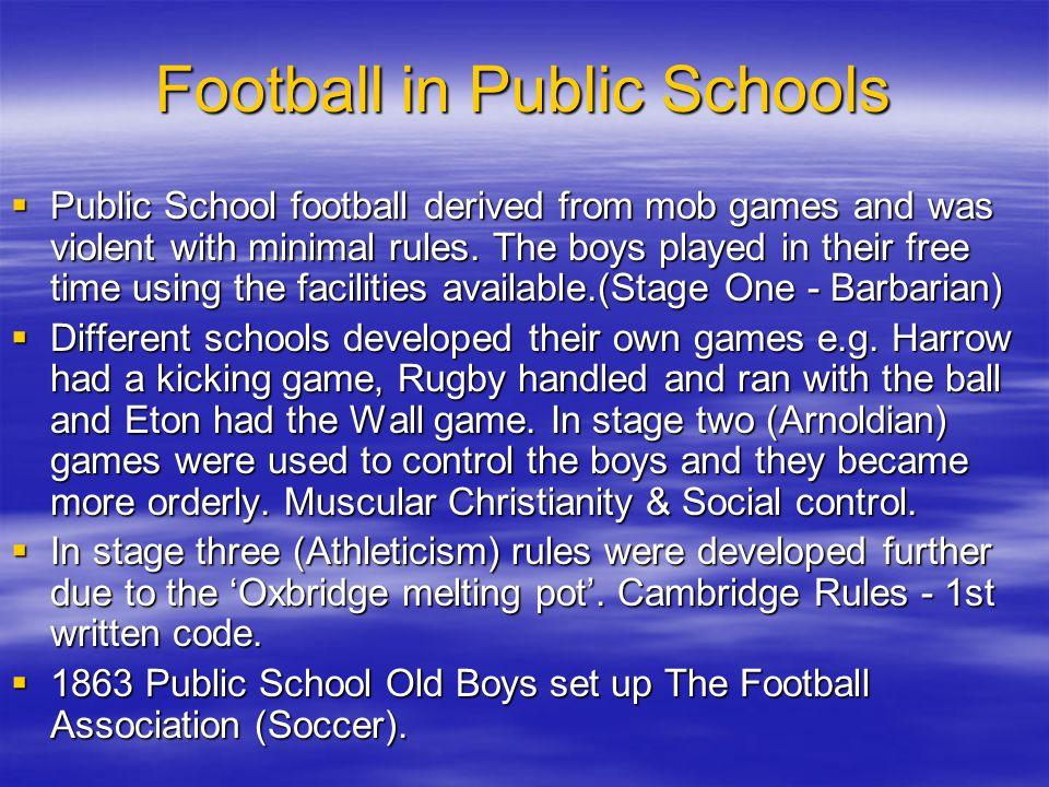 Football in Public Schools