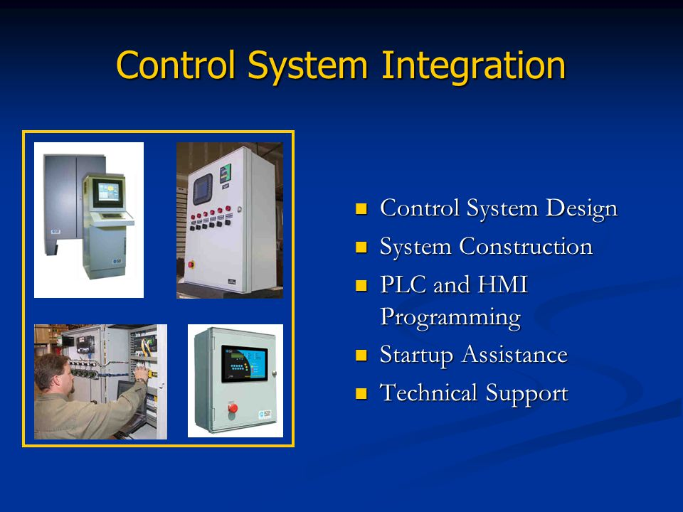 Control System Integration