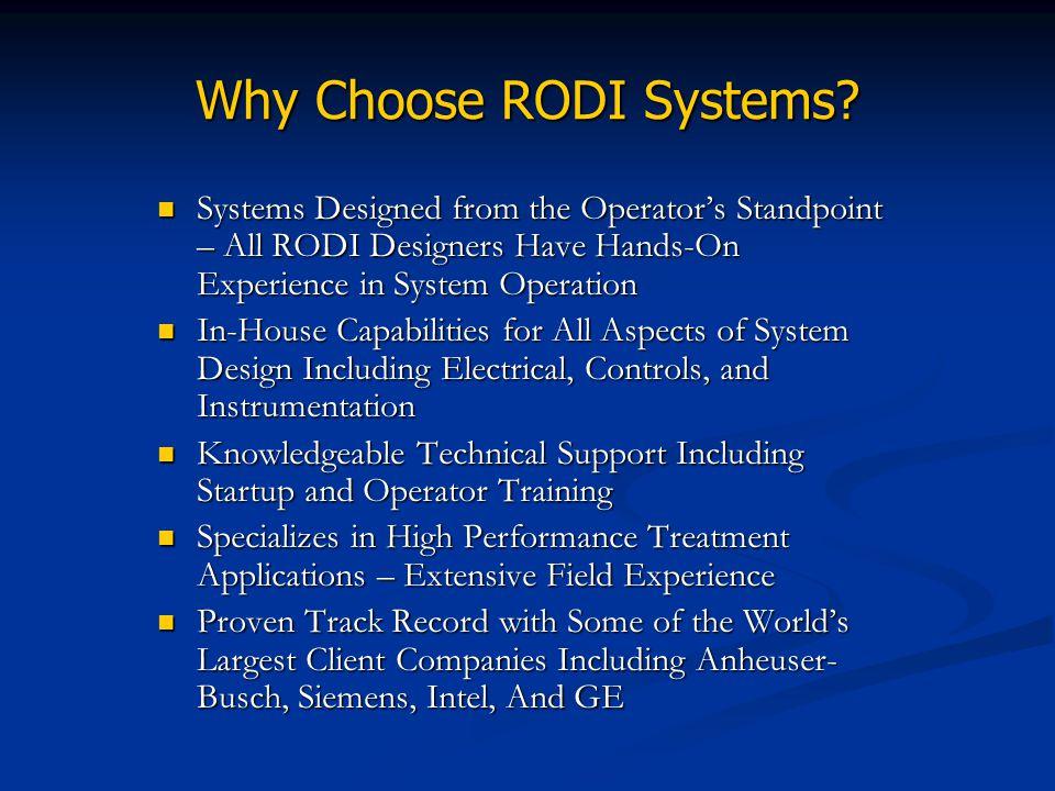 Why Choose RODI Systems