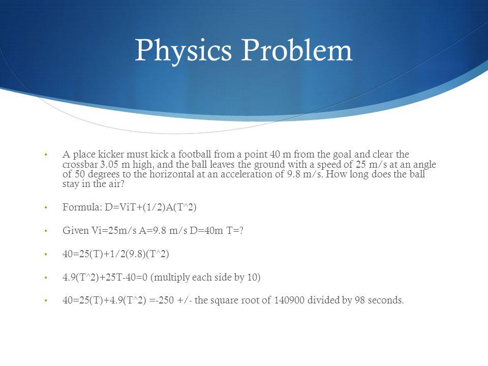 Physics Problem