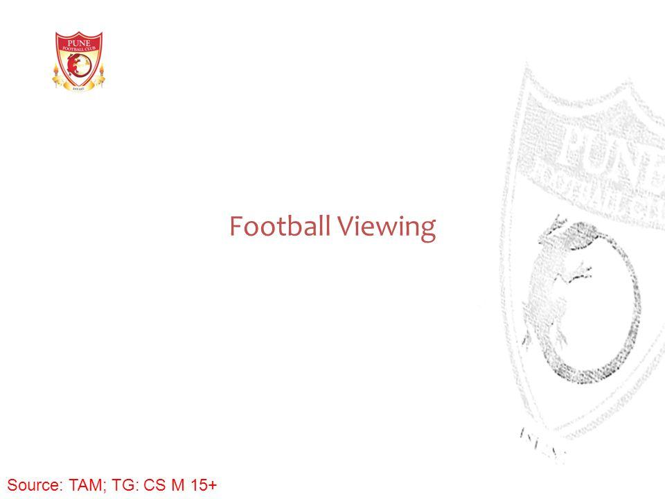 Football Viewing Source: TAM; TG: CS M 15+