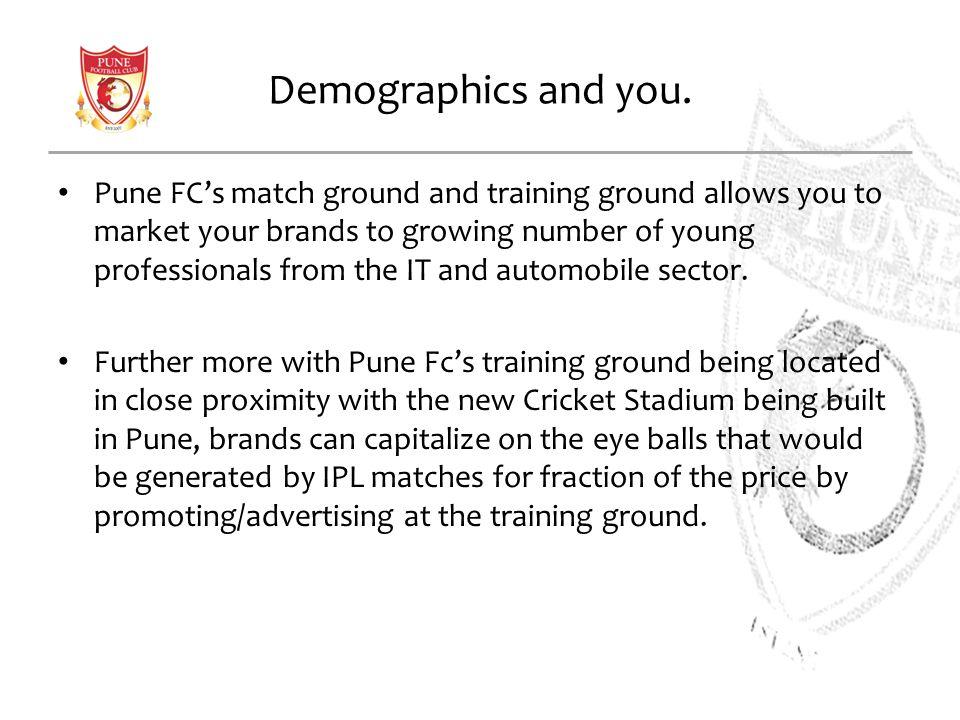 Demographics and you.