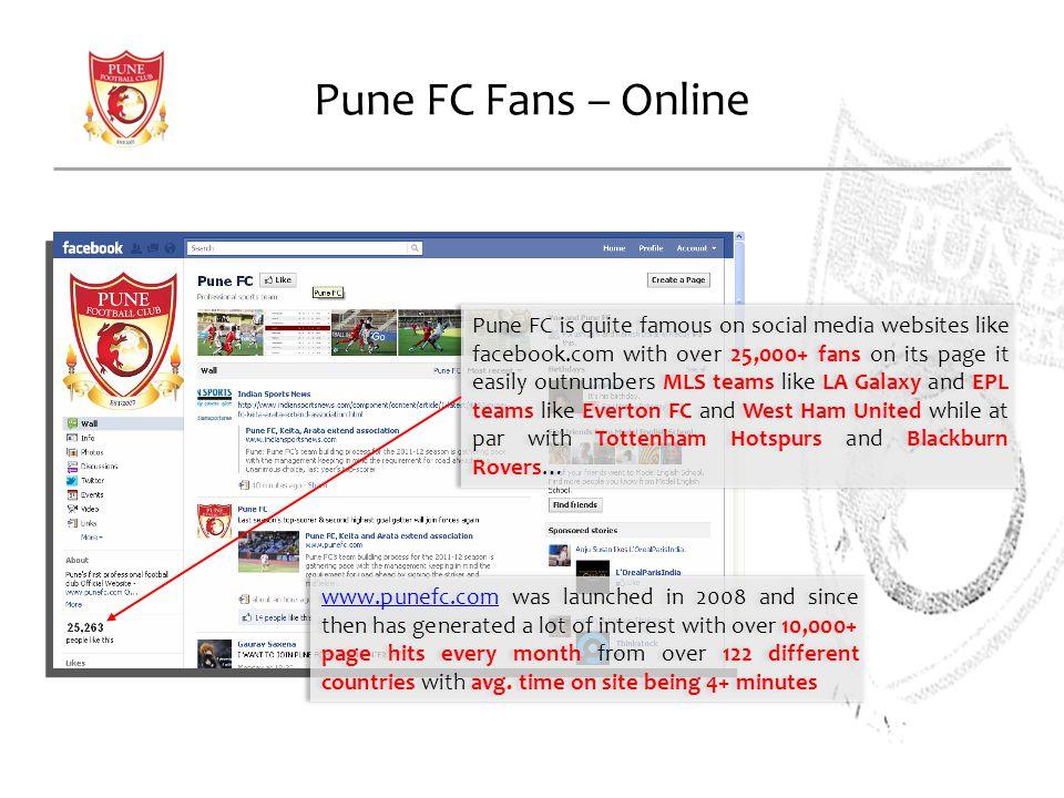 Pune FC Fans – Online