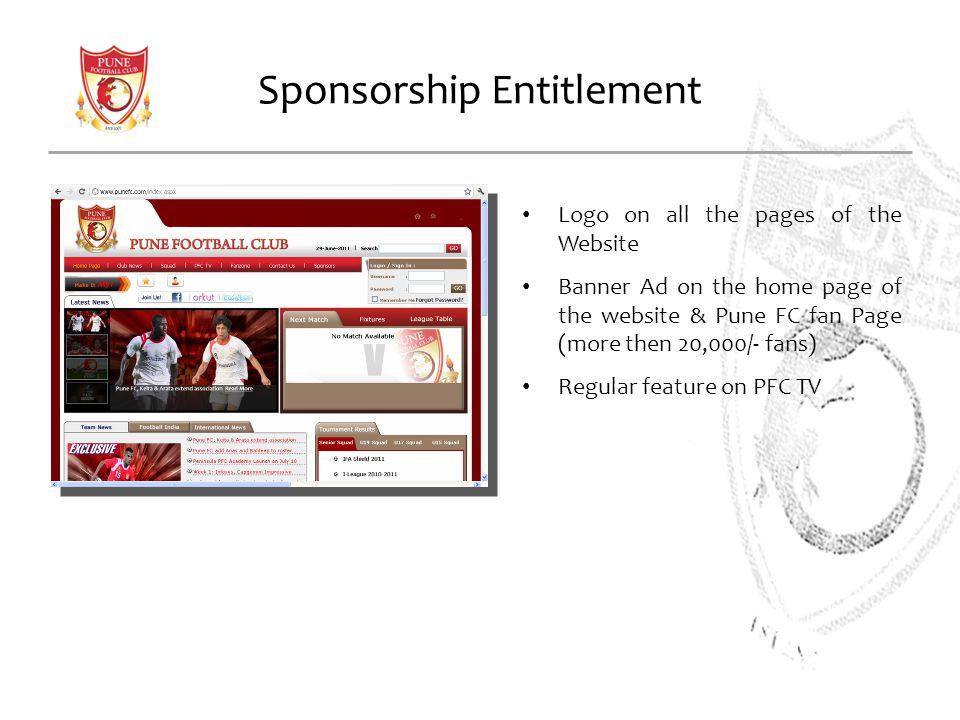 Sponsorship Entitlement