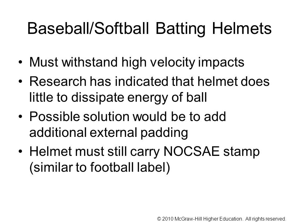 Baseball/Softball Batting Helmets
