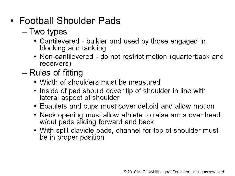 Football Shoulder Pads