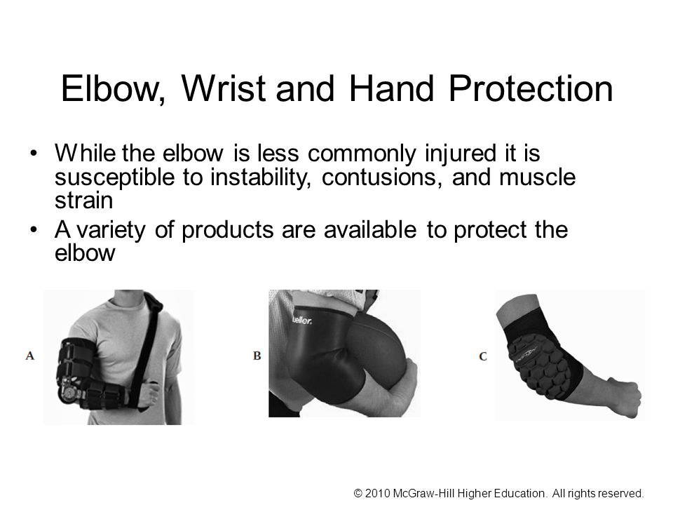 Elbow, Wrist and Hand Protection