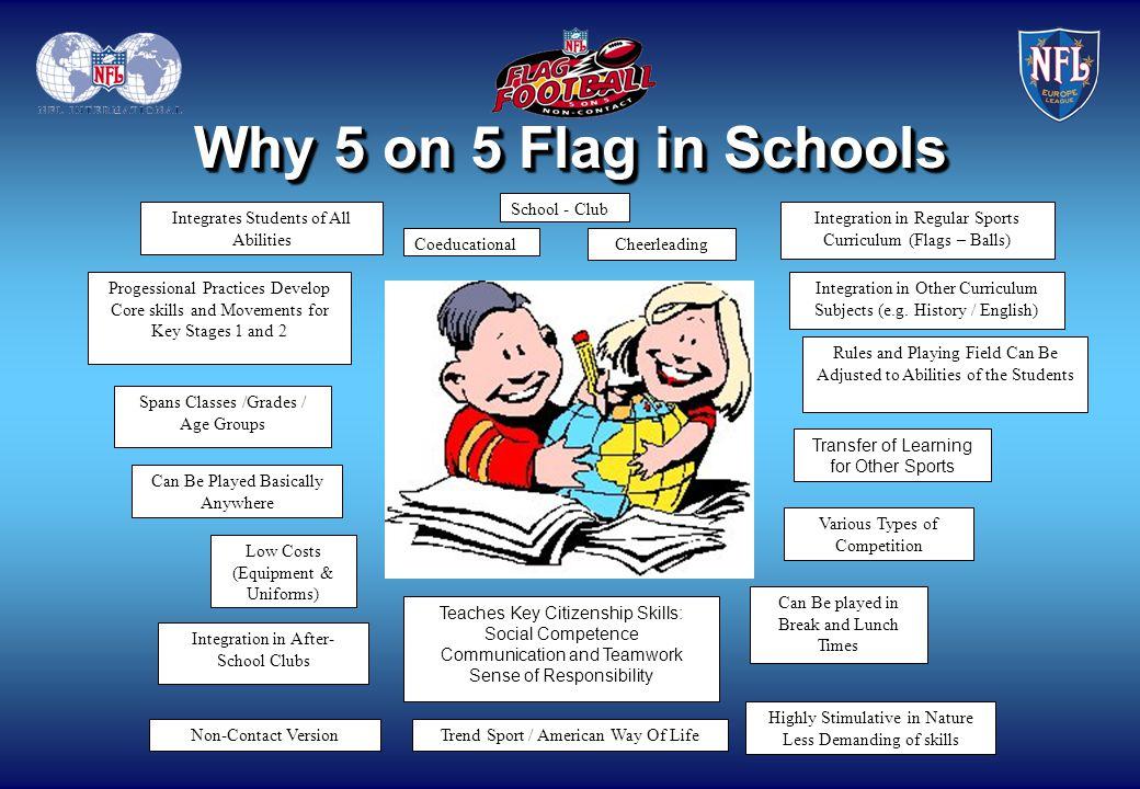 Why 5 on 5 Flag in Schools School - Club