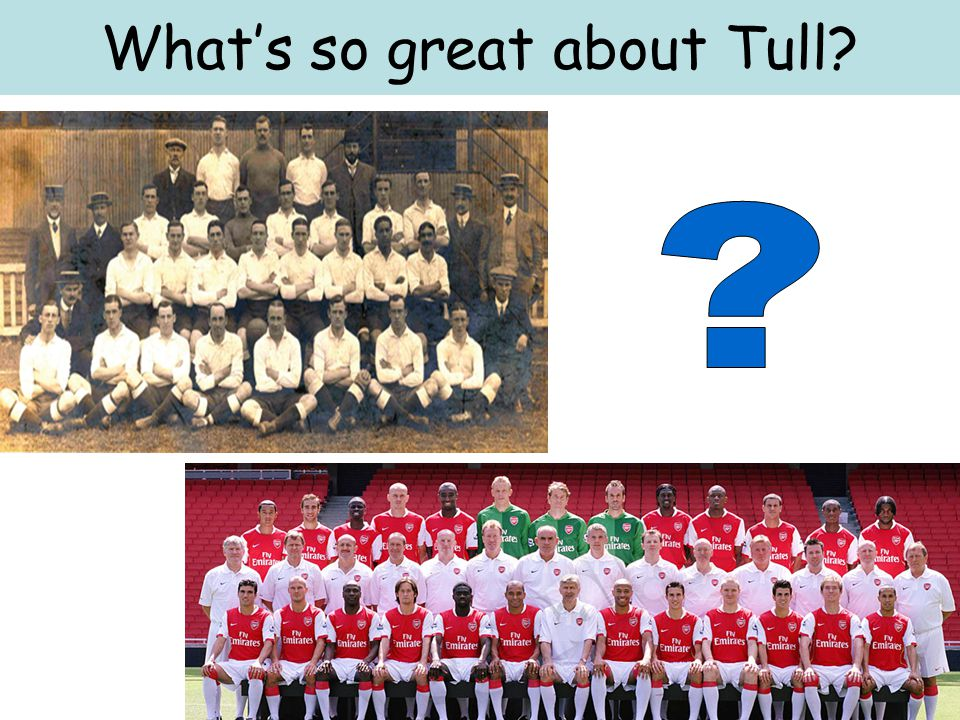 What's so great about Tull