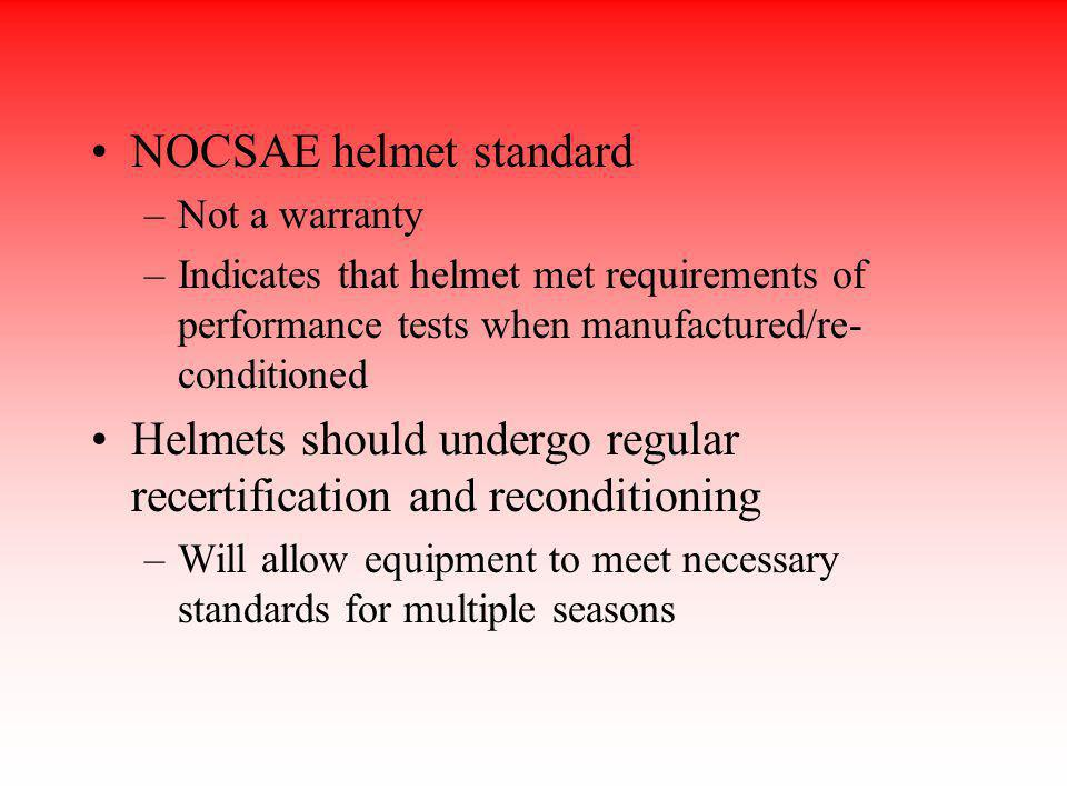 NOCSAE helmet standard