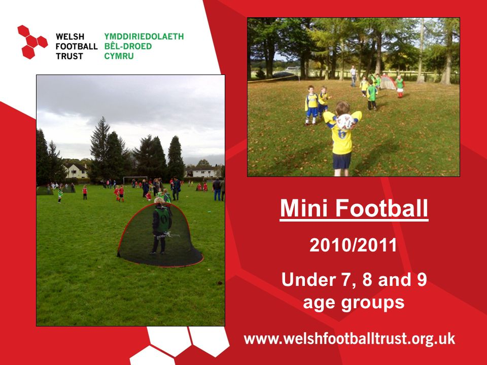 Mini Football 2010/2011 Under 7, 8 and 9 age groups