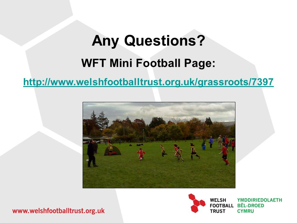 WFT Mini Football Page: