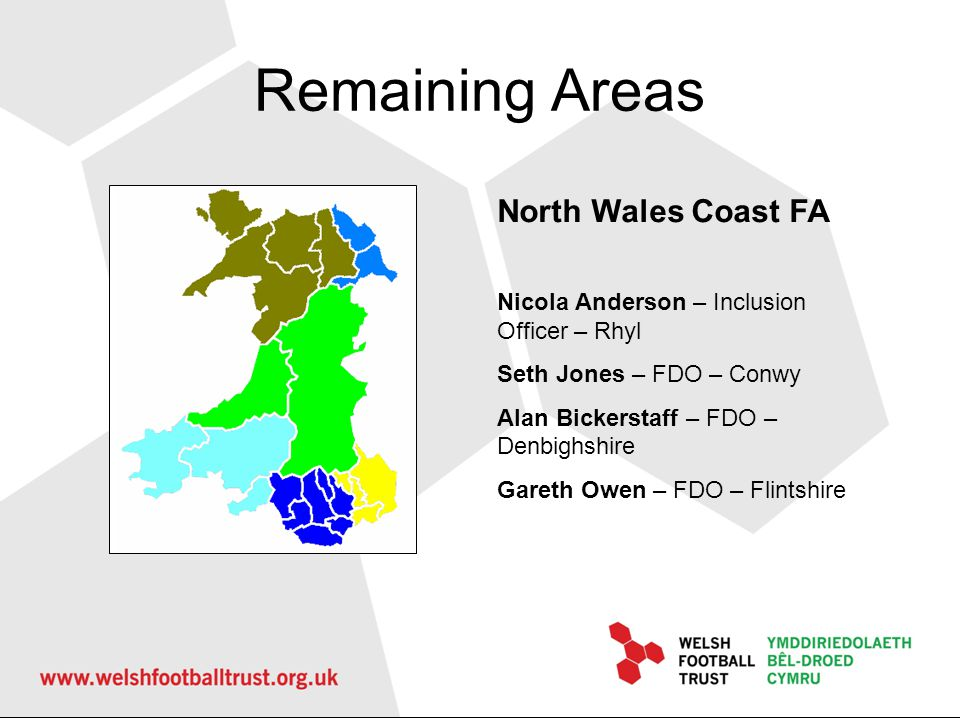 Remaining Areas North Wales Coast FA