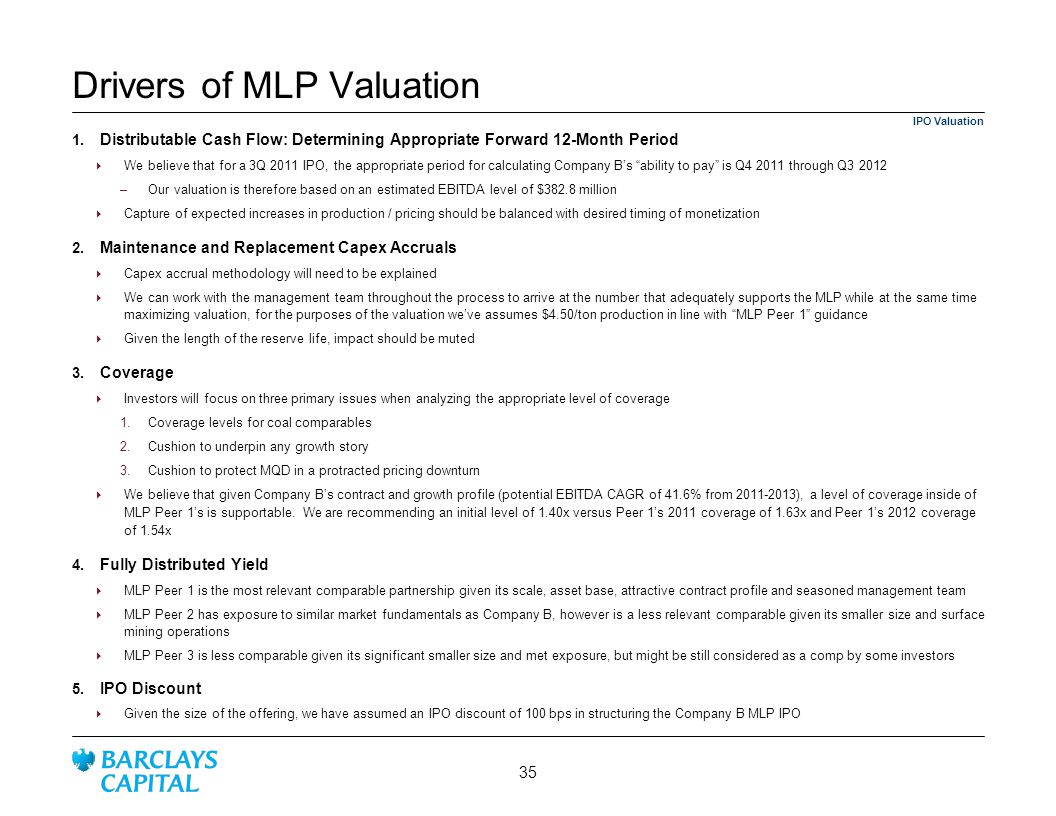 Drivers of MLP Valuation