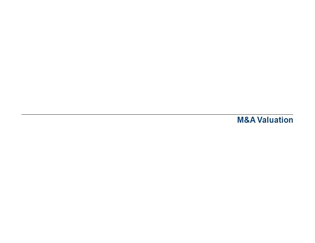 4/1/2017 8:53 AM M&A Valuation