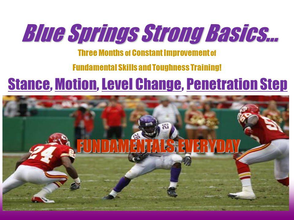 Stance, Motion, Level Change, Penetration Step