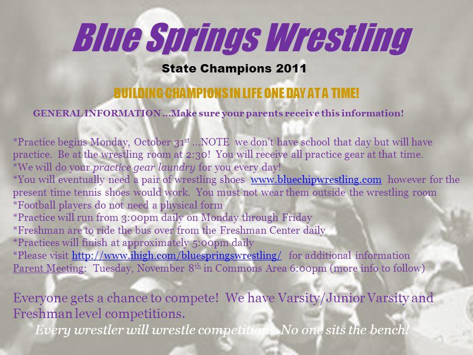 Blue Springs Wrestling