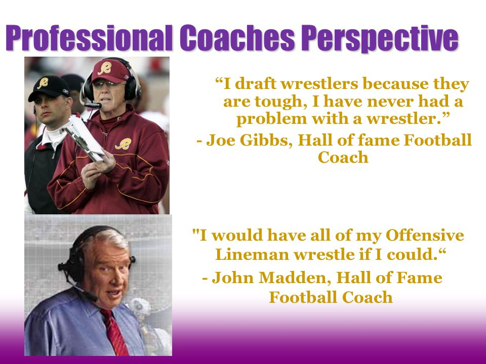 Professional Coaches Perspective