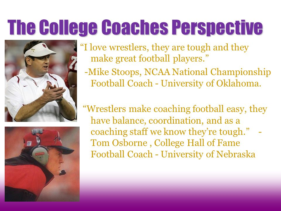 The College Coaches Perspective