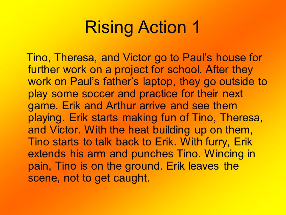 Rising Action 1