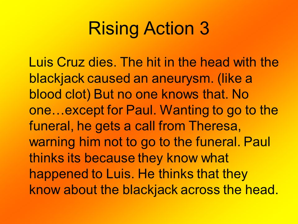 Rising Action 3