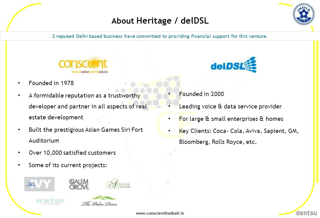 About Heritage / delDSL