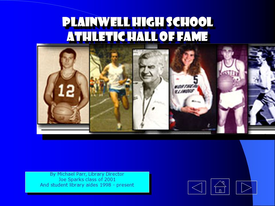 Plainwell High School Athletic Hall of Fame