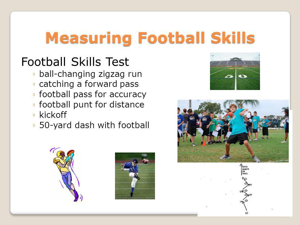 Measuring Football Skills