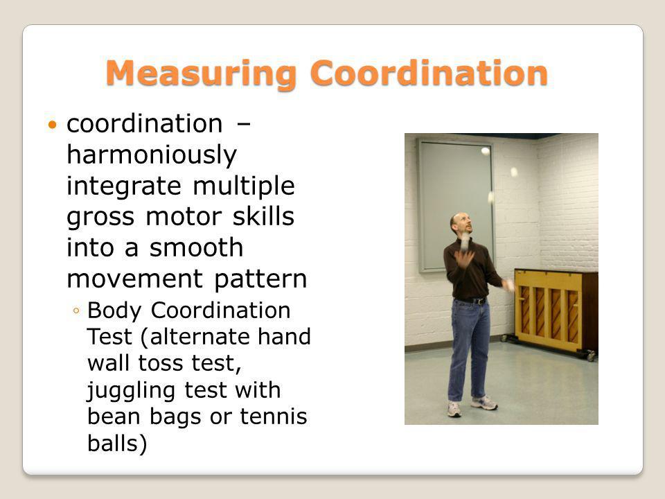 Measuring Coordination