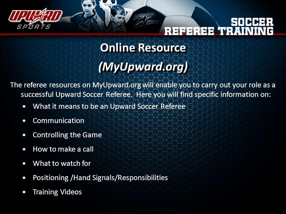 Online Resource (MyUpward.org)