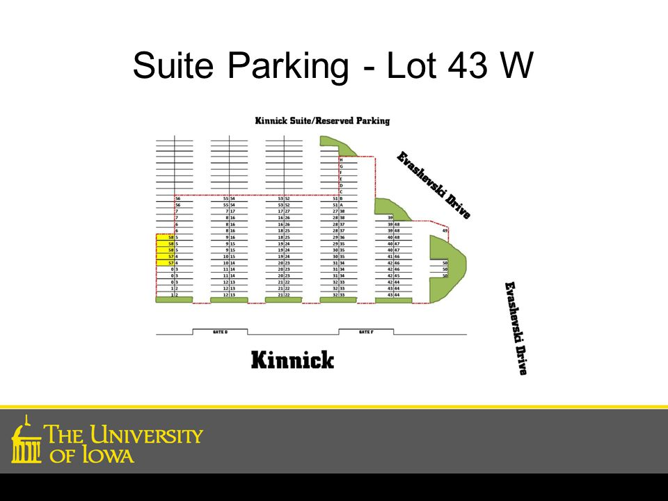 Suite Parking - Lot 43 W