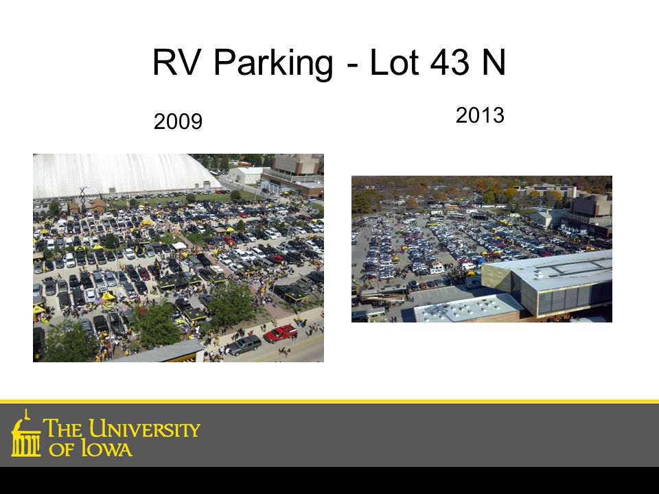 RV Parking - Lot 43 N 2013 2009