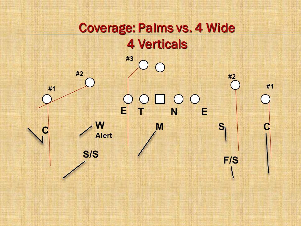 Coverage: Palms vs. 4 Wide