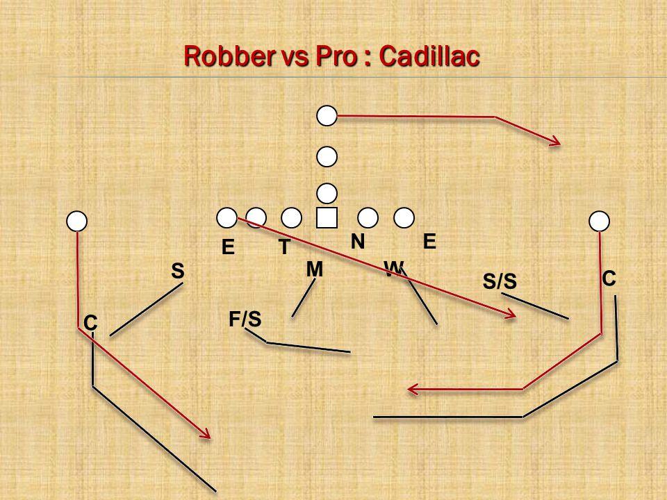 Robber vs Pro : Cadillac