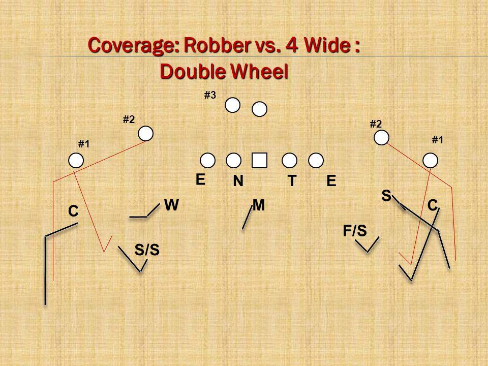 Coverage: Robber vs. 4 Wide :