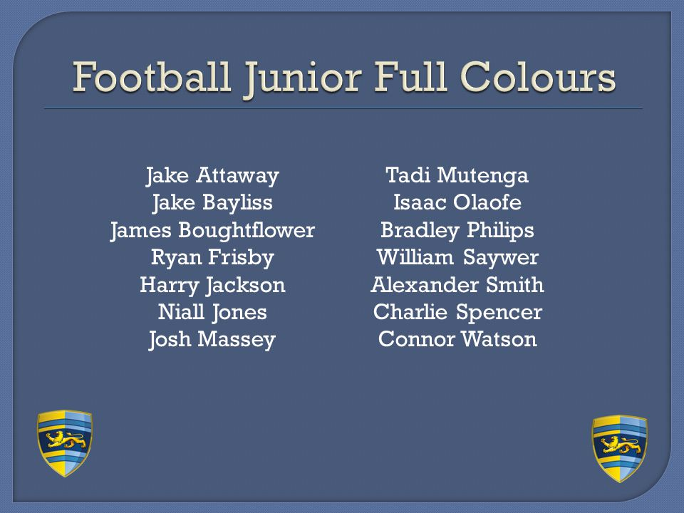 Football Junior Full Colours