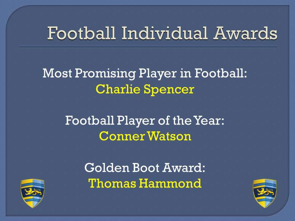 Football Individual Awards