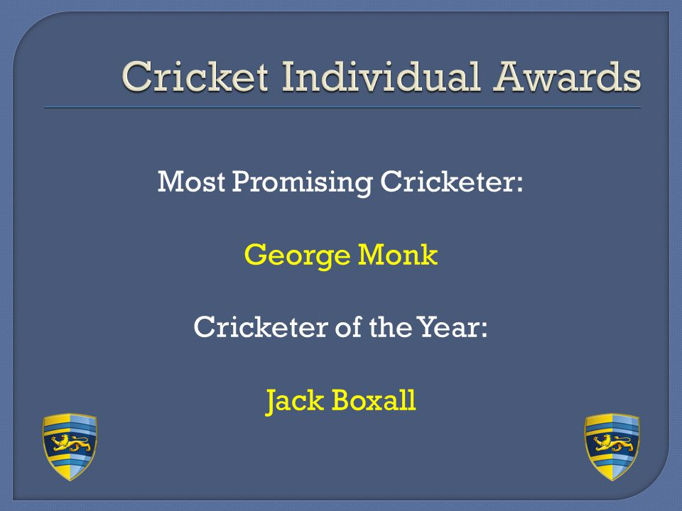 Cricket Individual Awards