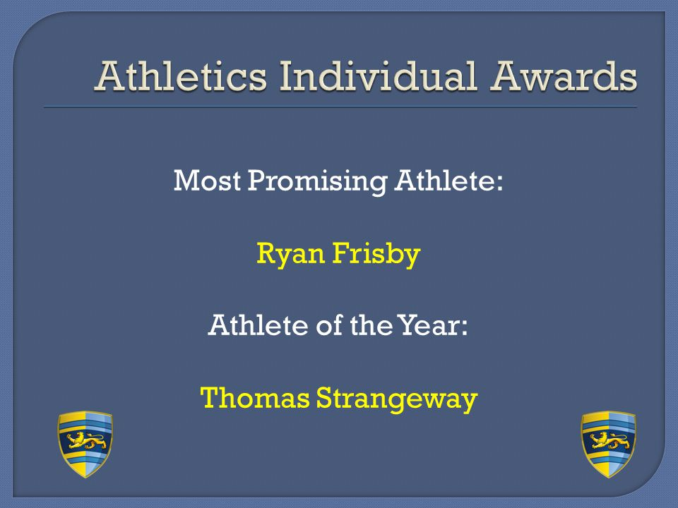 Athletics Individual Awards