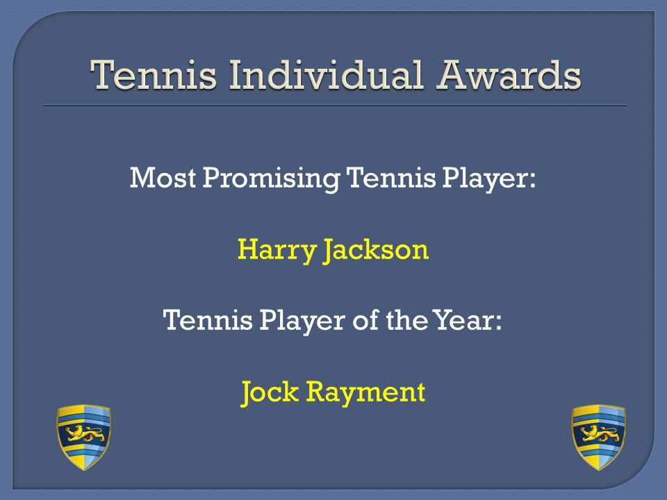 Tennis Individual Awards