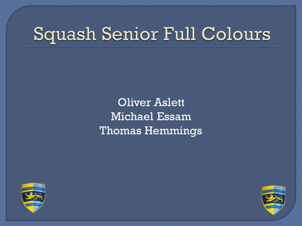 Squash Senior Full Colours