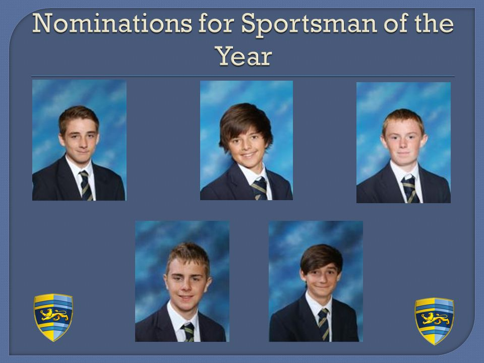 Nominations for Sportsman of the Year