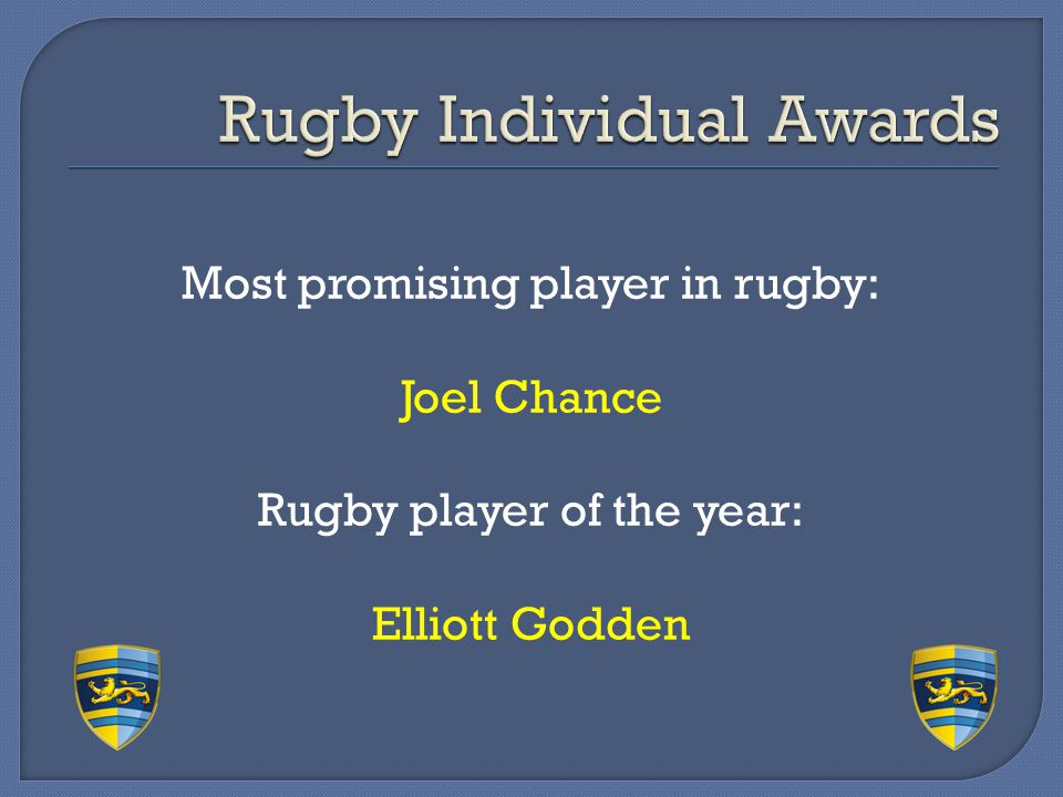 Rugby Individual Awards