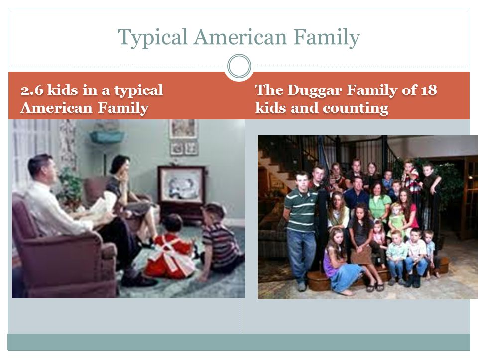 Typical American Family