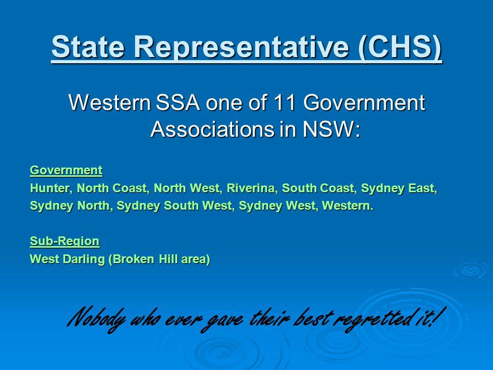 State Representative (CHS)