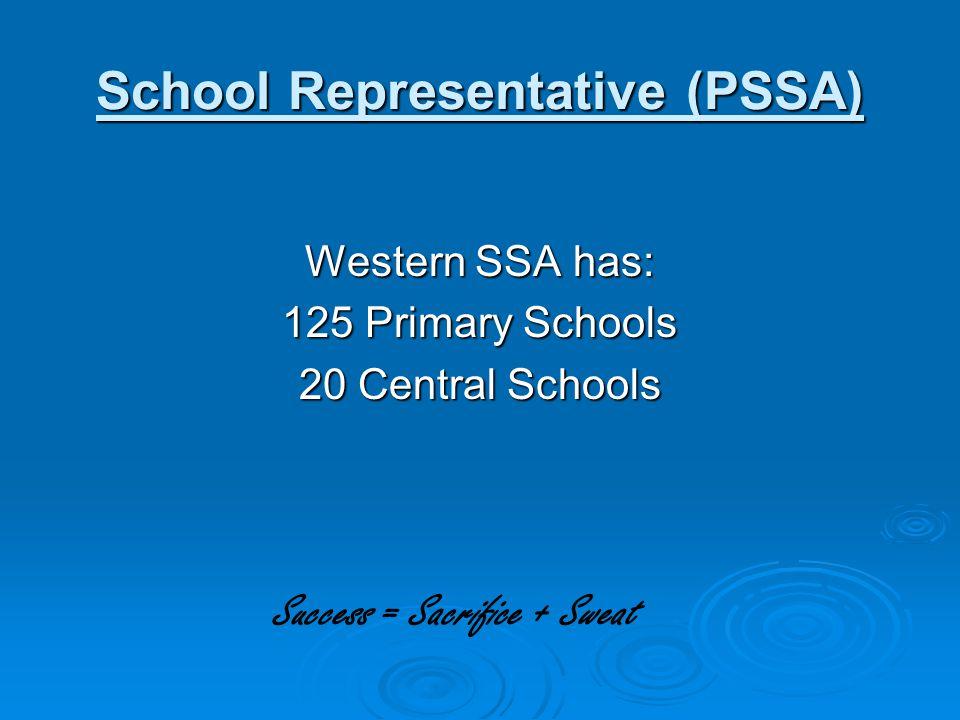 School Representative (PSSA)