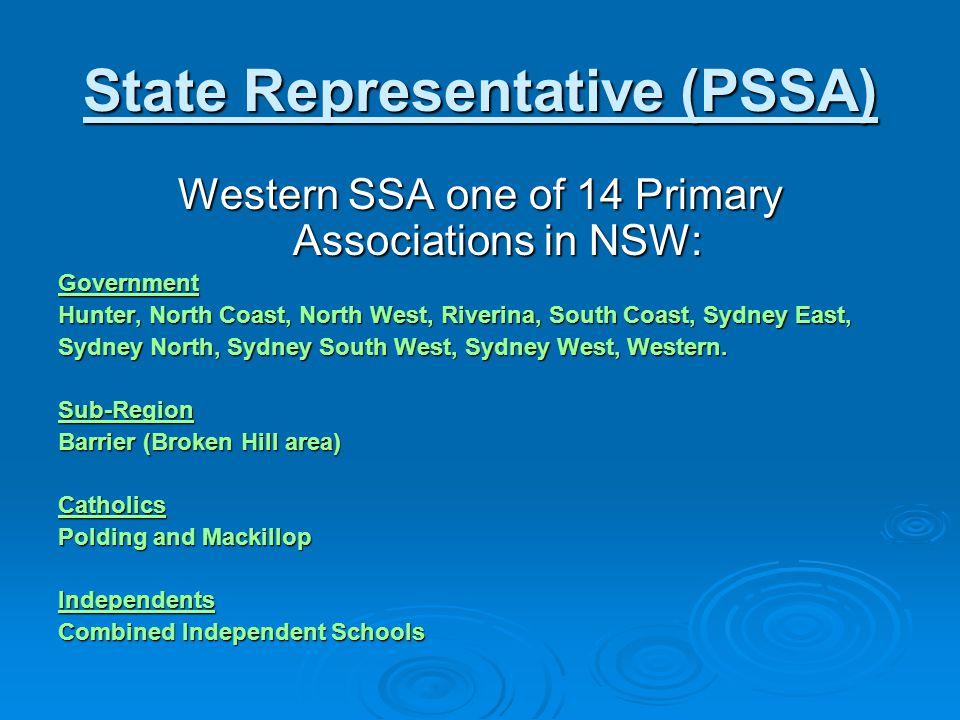 State Representative (PSSA)