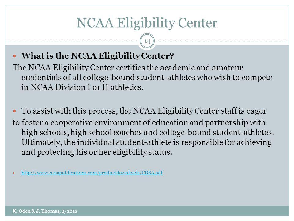 NCAA Eligibility Center